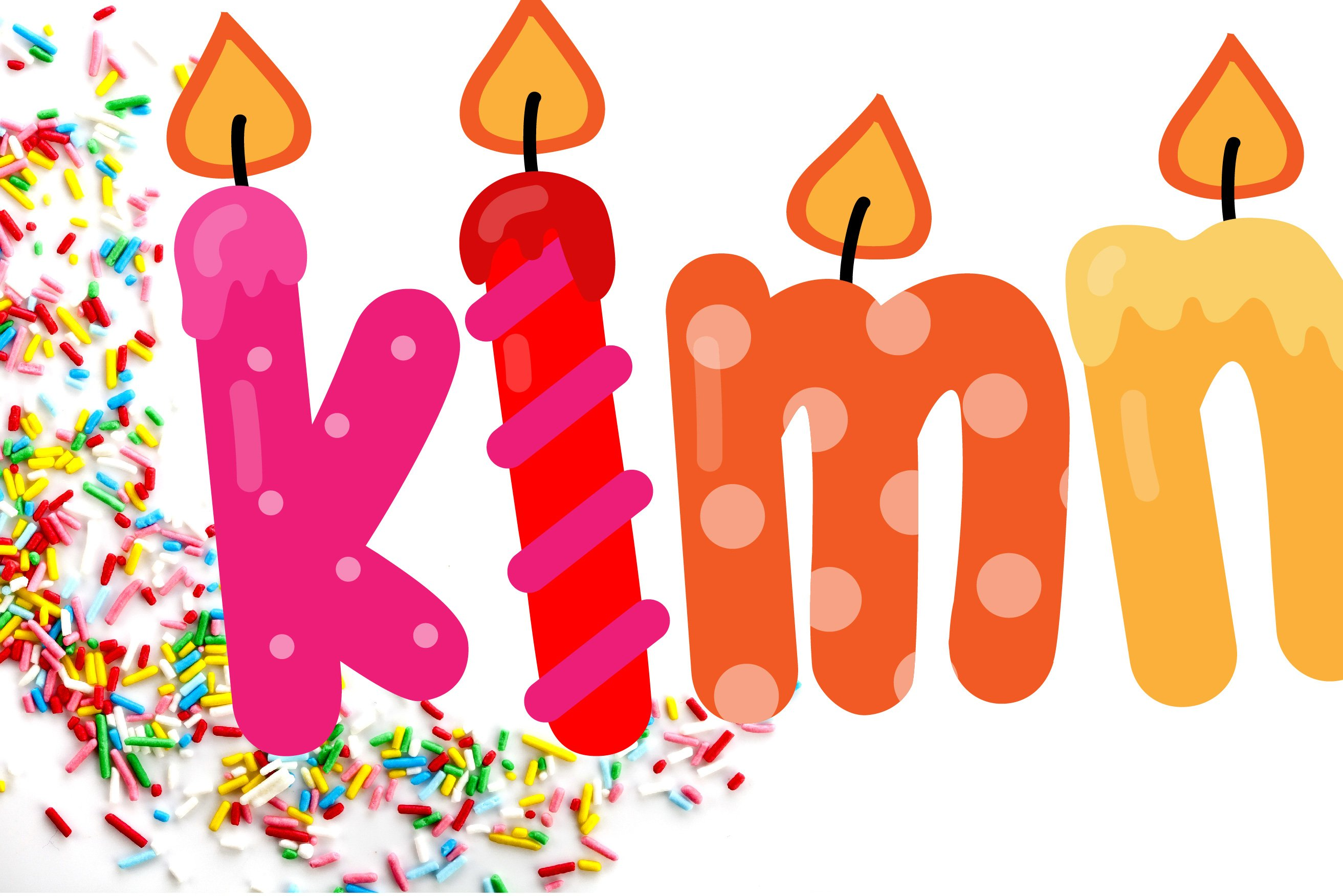Birthday SVG Font Duo example image 9