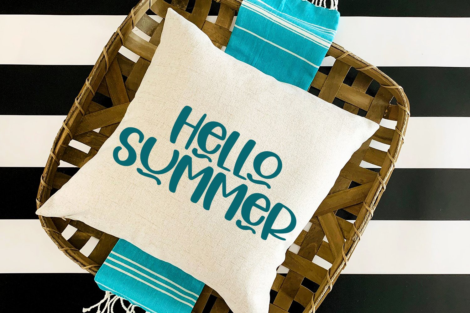 Hello Wednesday - A Cute Hand-Lettered Font example image 2