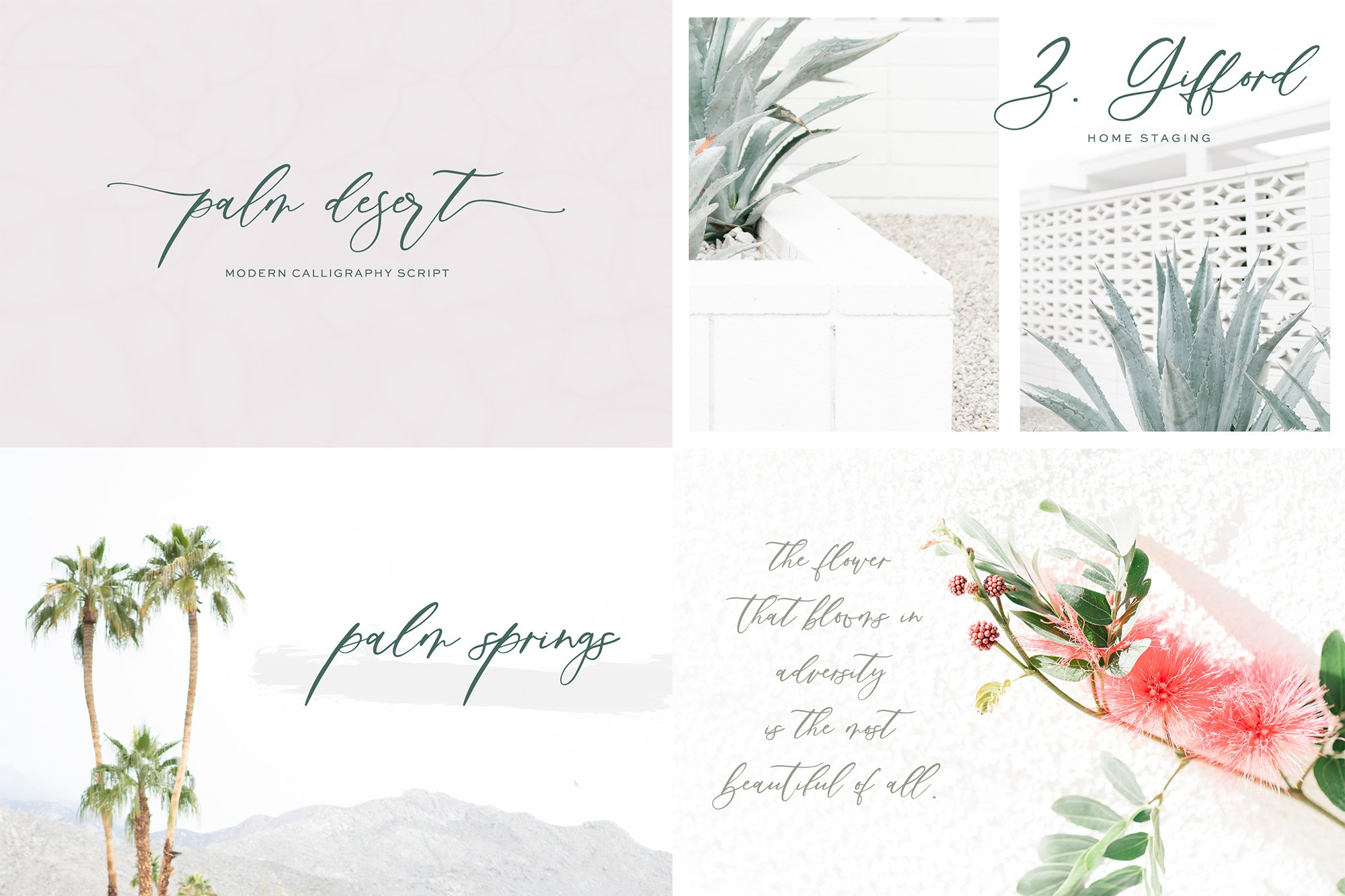 The Chic Calligraphy Font Bundle example image 7