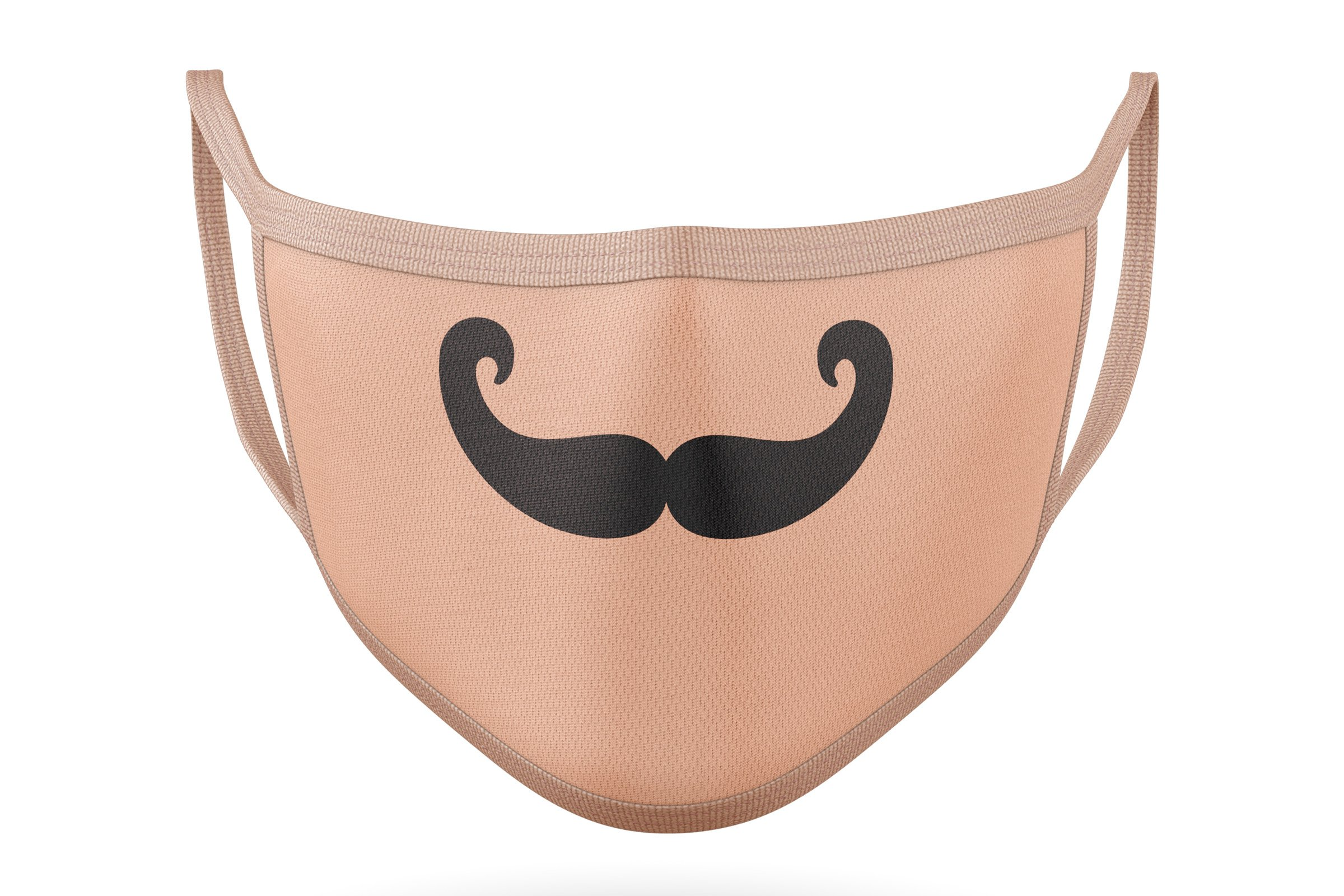 10 Funny Mustaches for Masks - SVG Cut Files example image 12