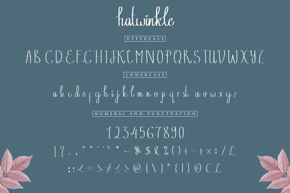 Hatwinkle example image 2