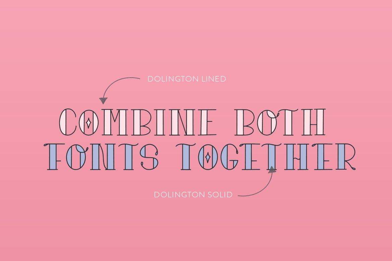Dolington Font Duo example image 3