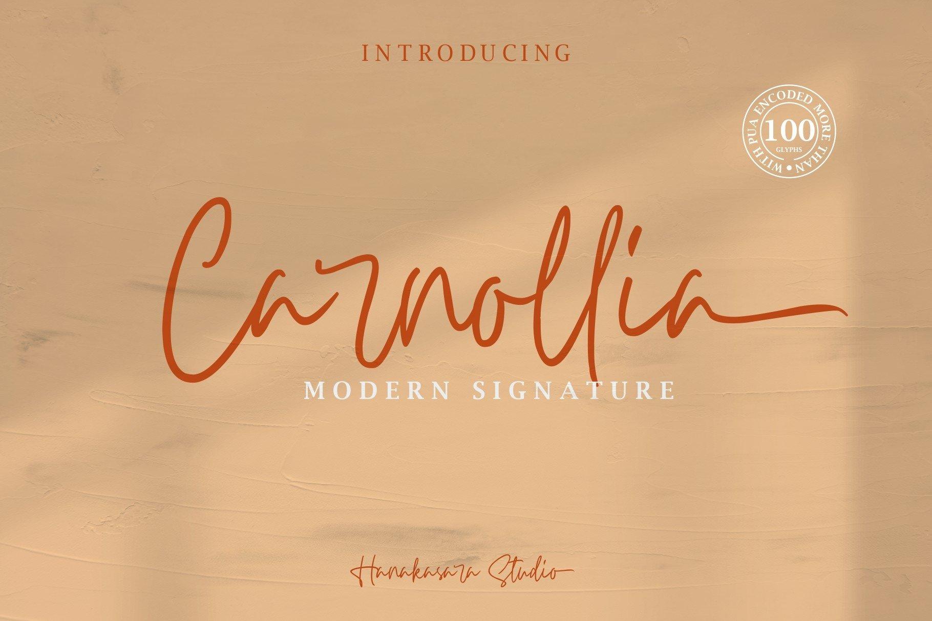 Carnollia Signature example image 1