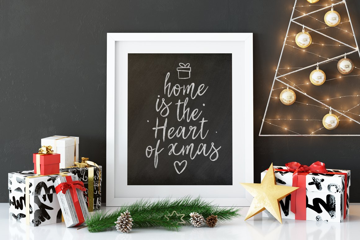 Best Christmas Font BIG UPDATE example image 7
