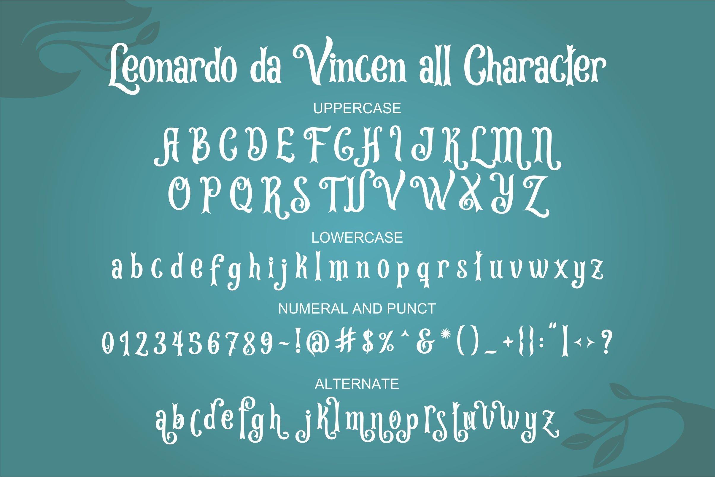 Leonardo da Vincen example image 6