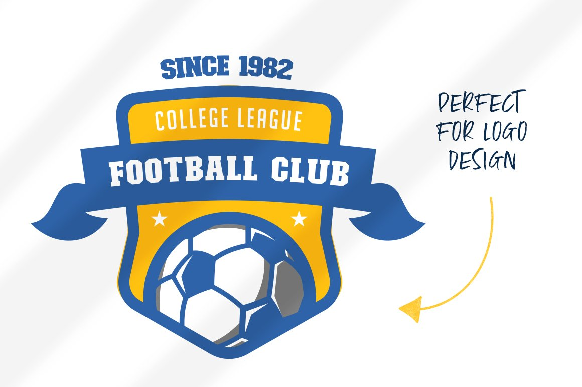 College Font Family example image 2