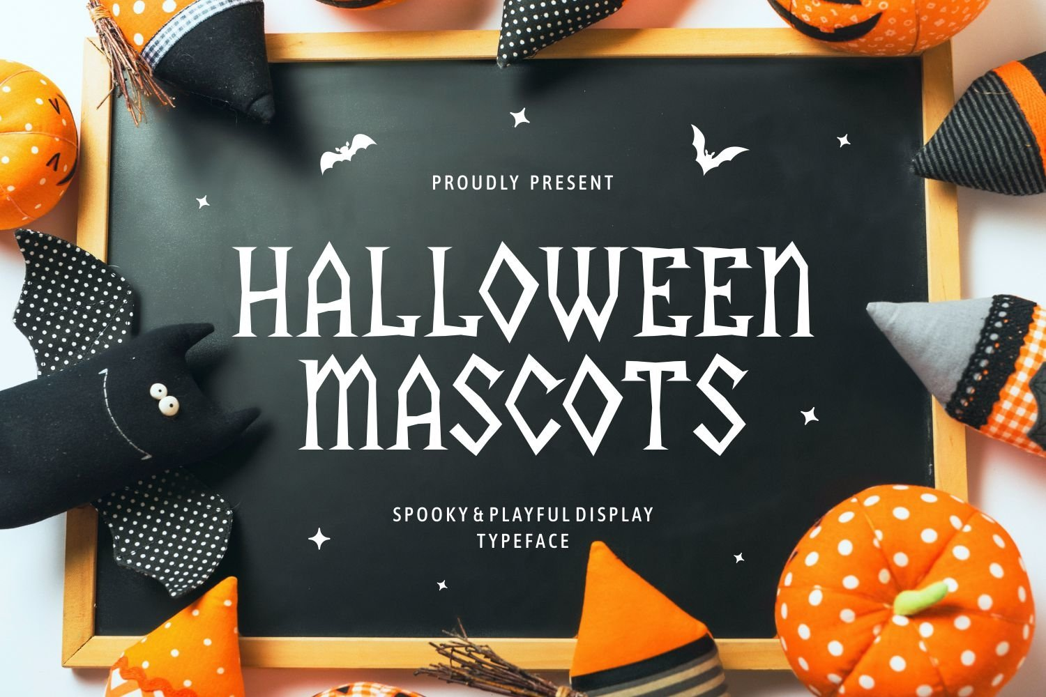Halloween Mascots - Spooky and Playful Display Typeface example image 1