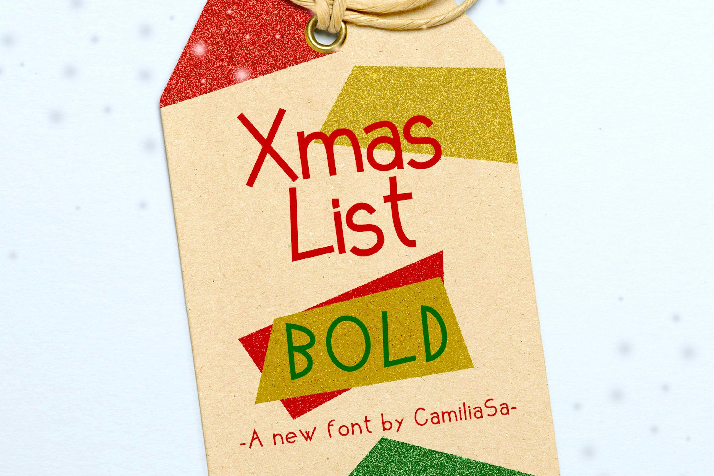 Christmas Font Bundle - A festive collection sans serif font example image 4