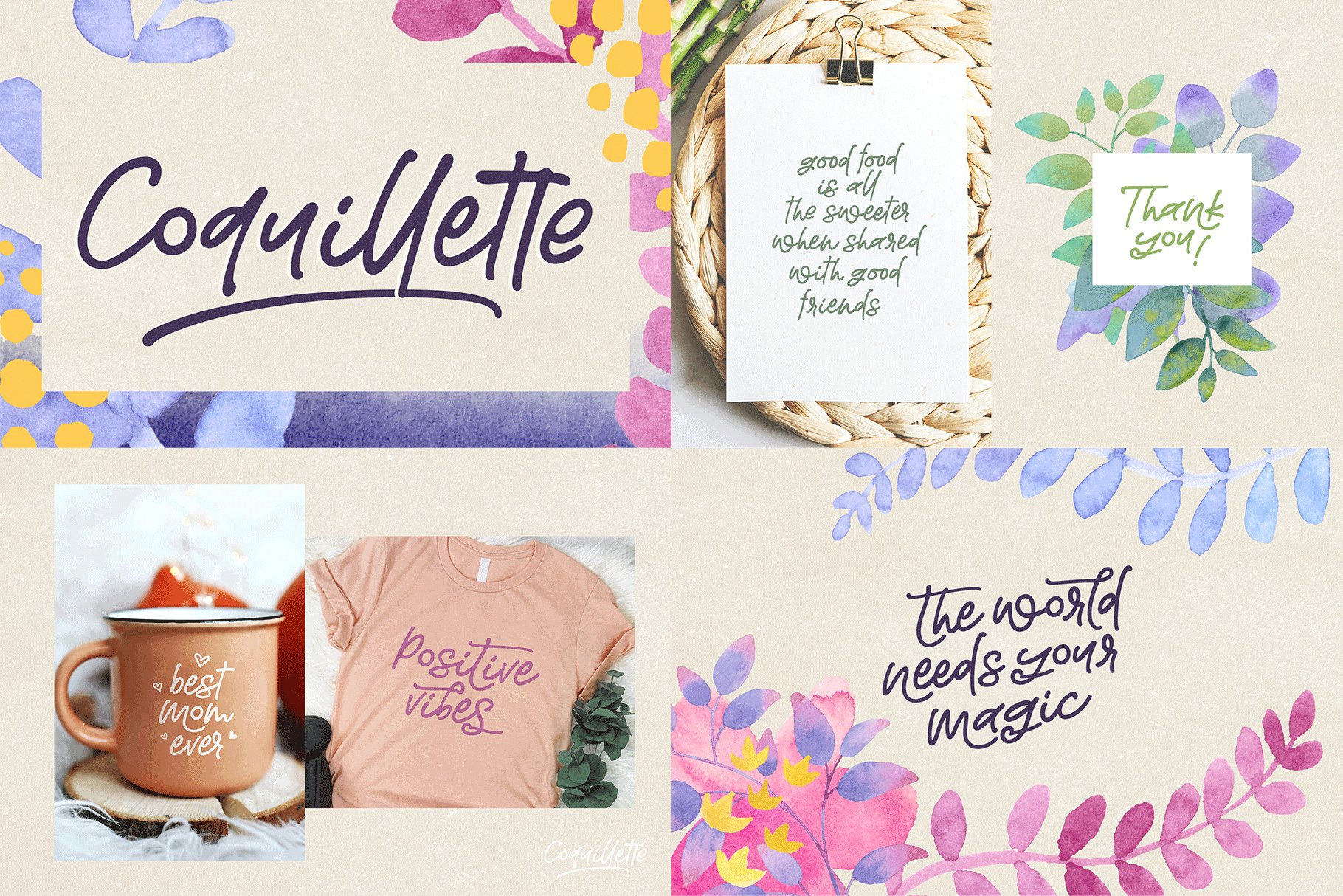 The Hand Lettered Font Bundle example image 3