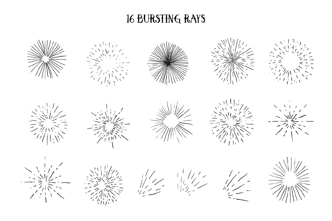 Vector Vintage Elements example image 2