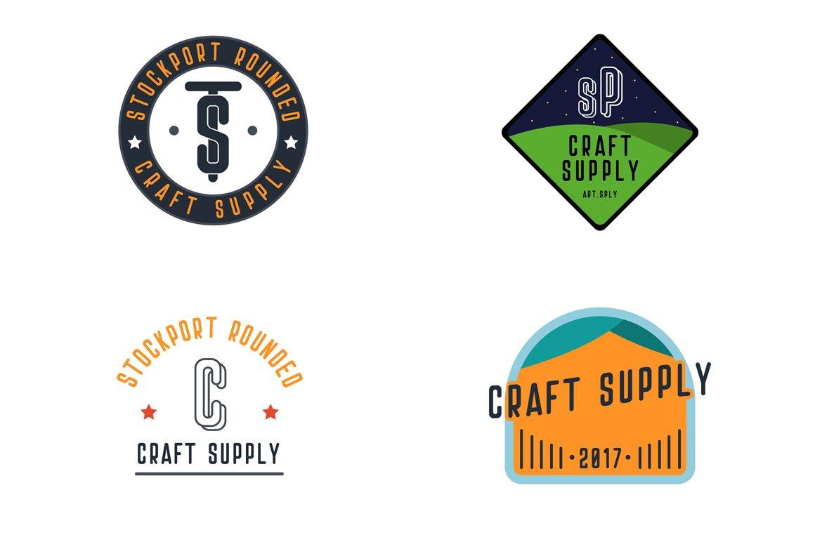 Stockport Rounded + Bonus Logo example image 9