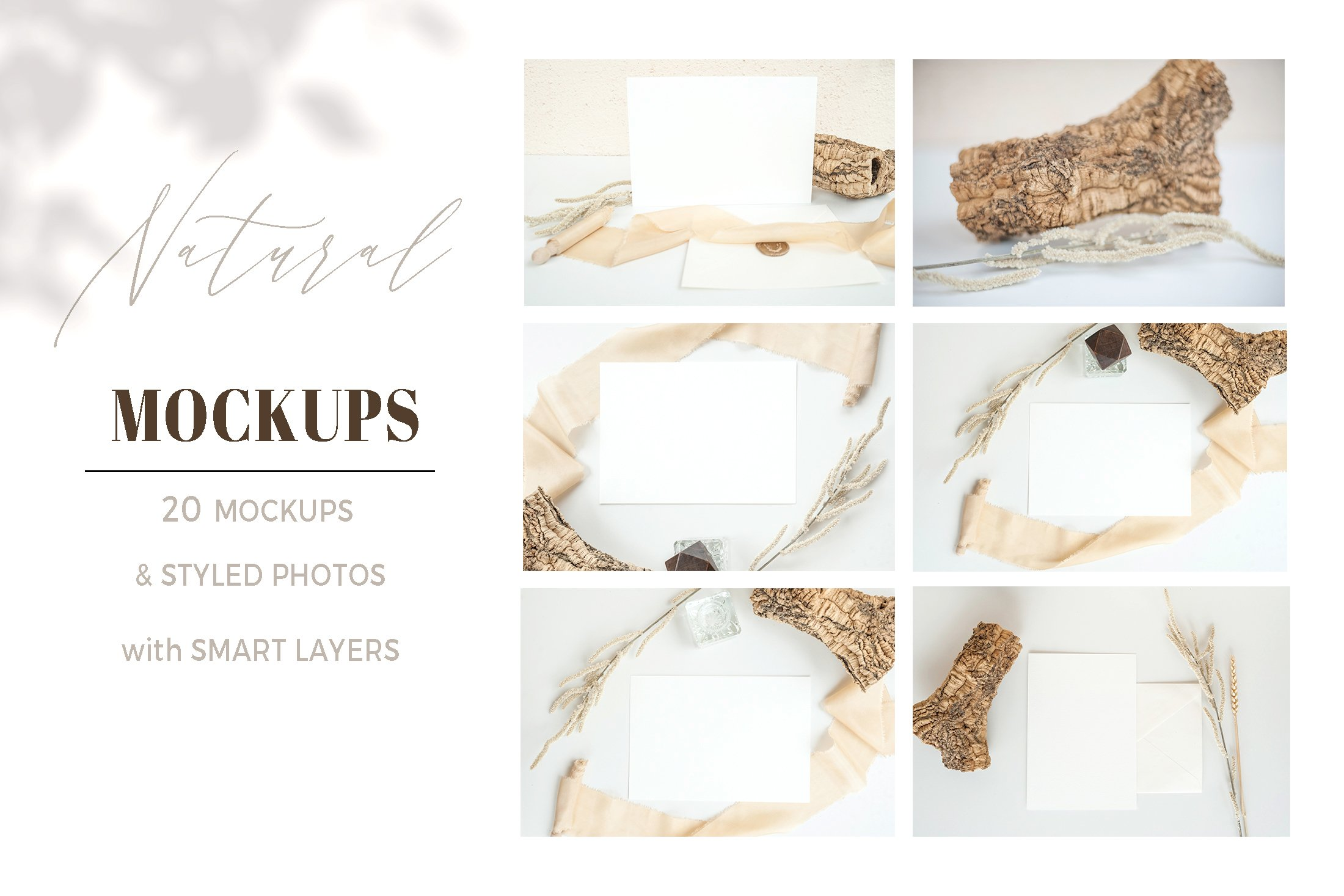 Natural. Mockup and style photos Soft and delicate nude. example image 1