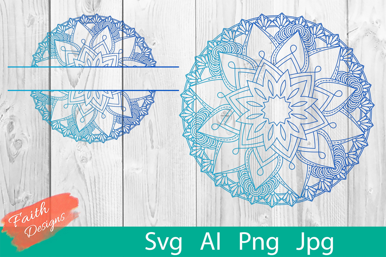 Mandala & Split Mandala No. 10 example image 1