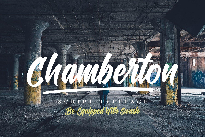Chamberton Script Font example image 1