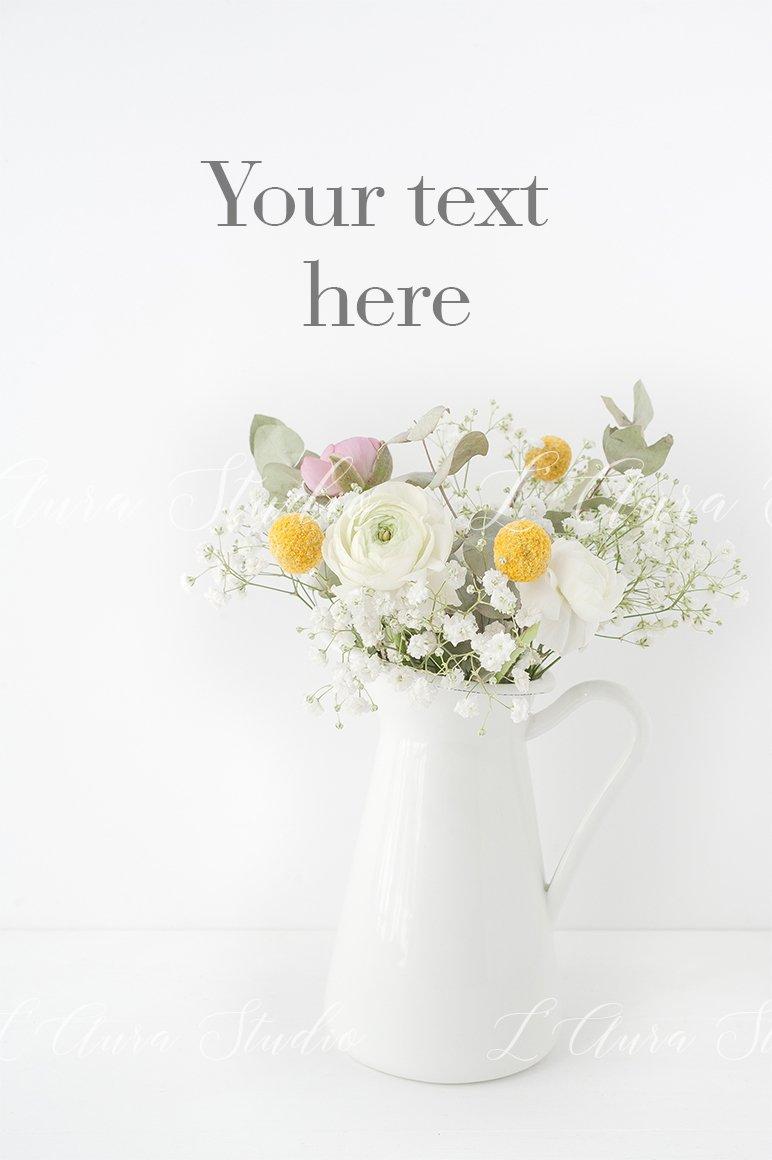 Landscape frame mockup - floral 8x10 example image 2