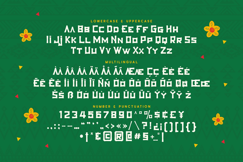 Thanasis - Ethnic Display Font example image 2
