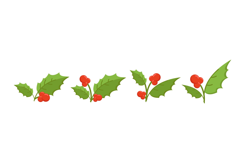 Mistletoe Illustrations example image 1