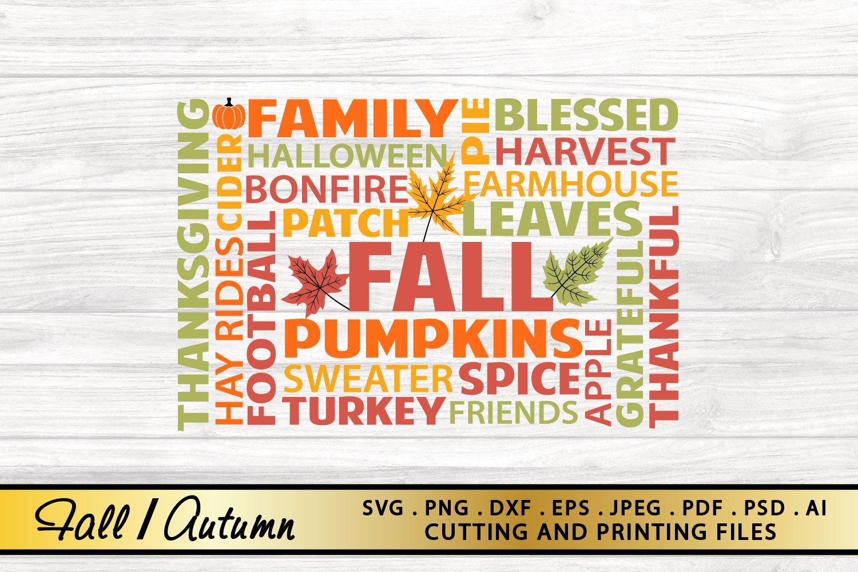 Fall Sign Svg Png Eps Dxf Fall Svg Autumn Svg Farmhouse Svg 856745 Illustrations Design Bundles