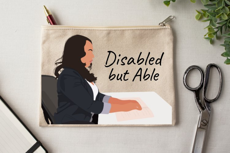Disabled but Able Vector Illustration example image 6