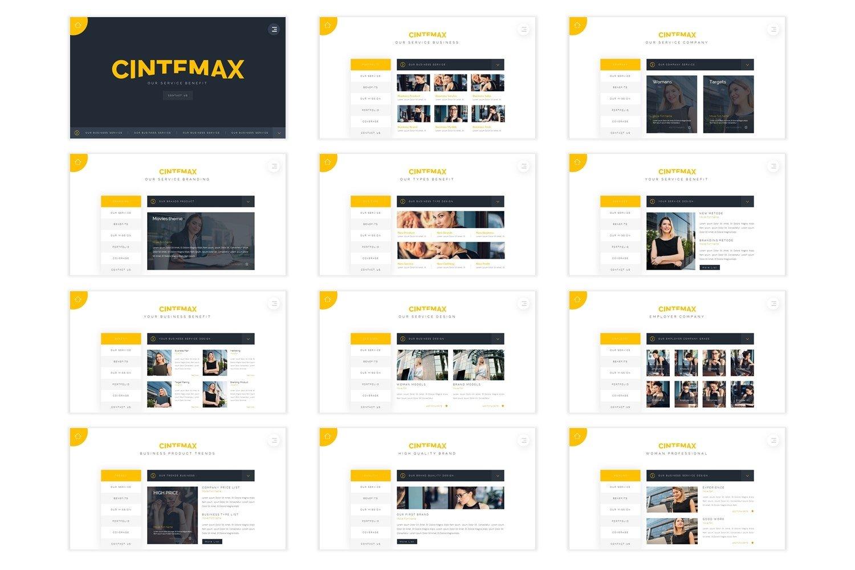 Cintemax - Keynote Template example image 4