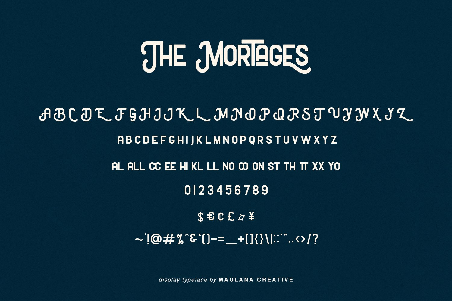 The Mortages - Display Font example image 6