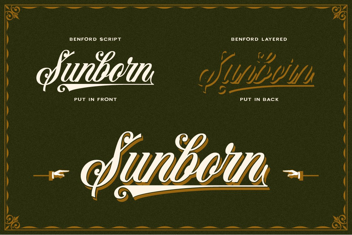 Benford Font Collections with Extras example image 4