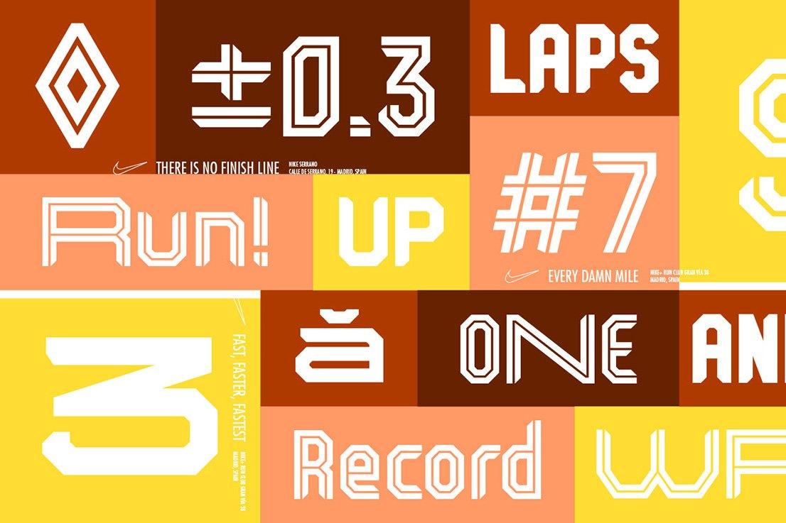 Kickoff Font Family example image 4