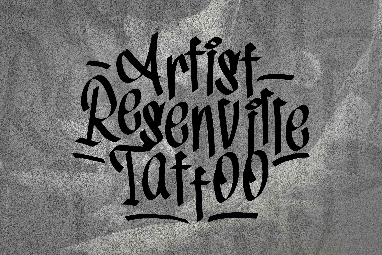 Tag1 Graffiti Font example image 3