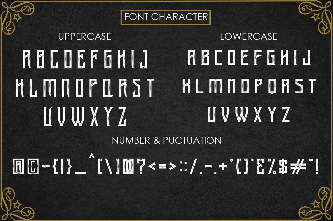 Arsenic - Vintage Typeface example image 4