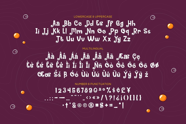 Gravestone - Playful Display Font example image 5