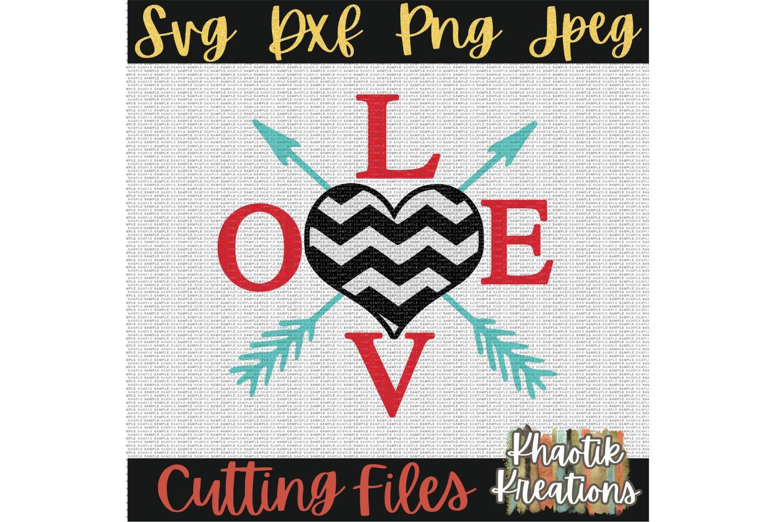 Love Svg Valentines Svg Valentines Heart With Arrows Svg 414790 Cut Files Design Bundles