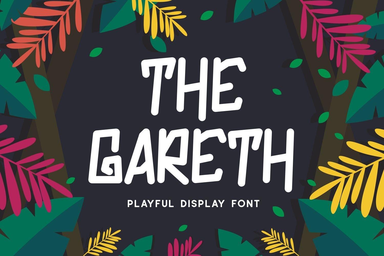 Gareth - Playful Display Font example image 1
