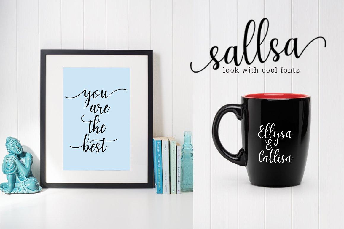 Sallsa Script example image 3
