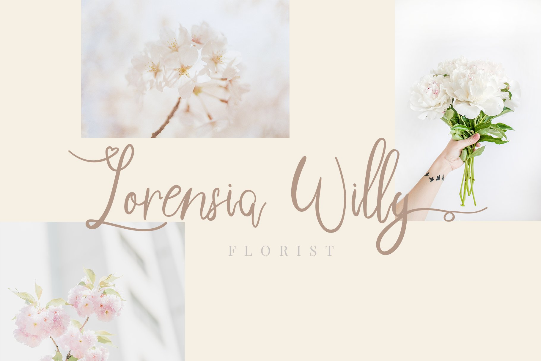 Sweetheart Lovely Calligraphy Font example image 2