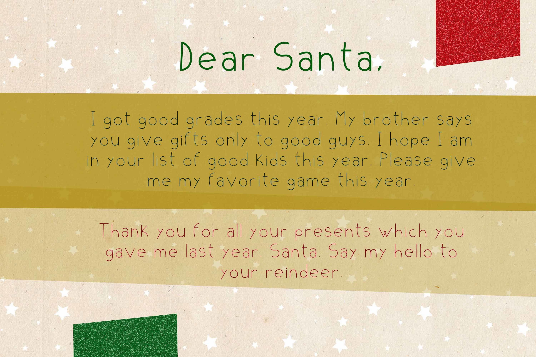 Xmas List Regular - A festive Christmas sans serif font ! example image 2