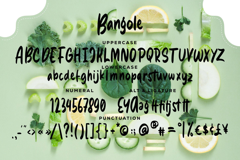 Bangole - Fancy Fonts example image 7