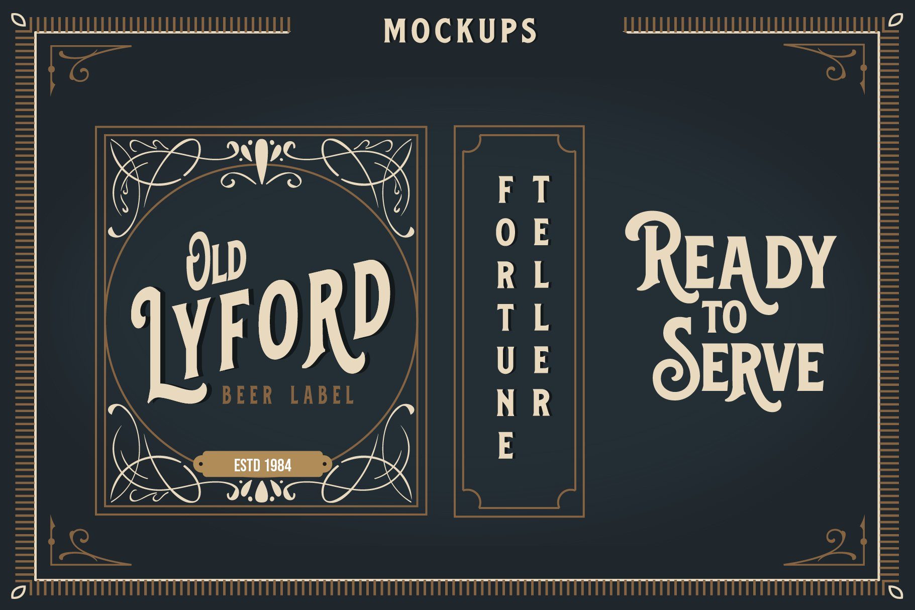 Blackford - Vintage Classic Font example image 4