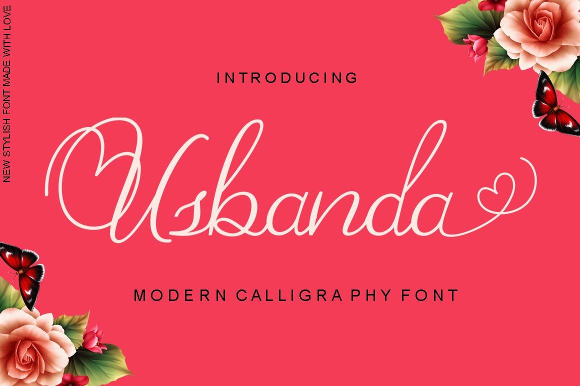 Beauty Font Bundles example image 8