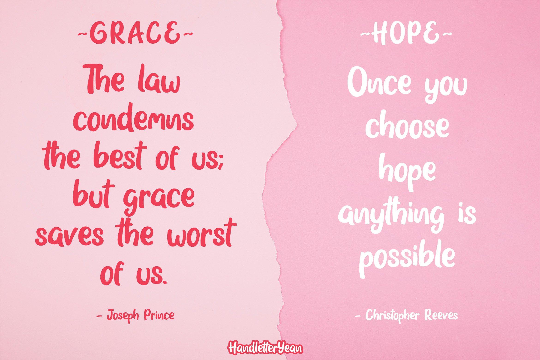 Grace & Hope example image 2