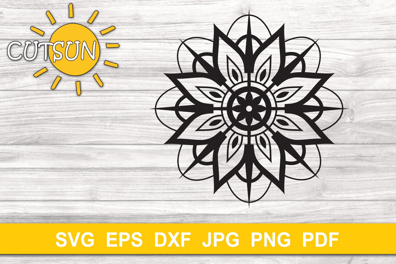 Download Mandala SVG | 3D Layered Mandala SVG cut file 8 layers ...