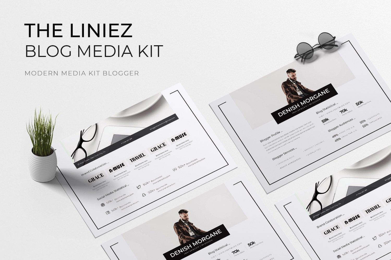 Liniez Media Kit Blog example image 1