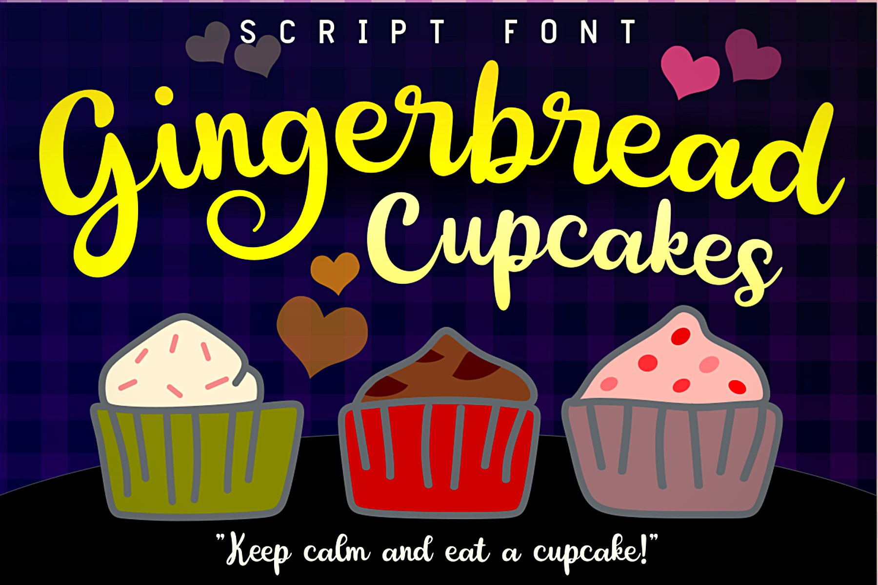 Gingerbread Cupcakes example image 1