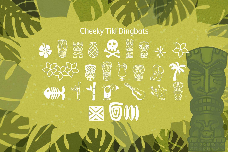 Freaky Tiki - a fun tropical font example image 8