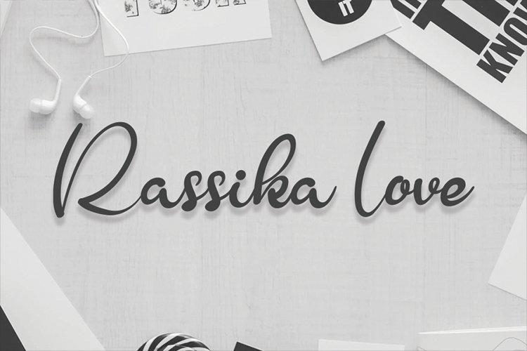 Rassika Love example image 1