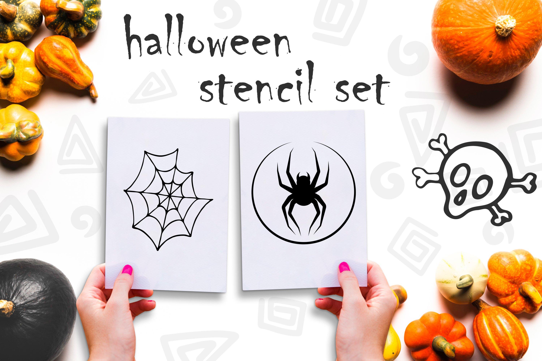 Doodle Halloween set. Digital elements example image 4
