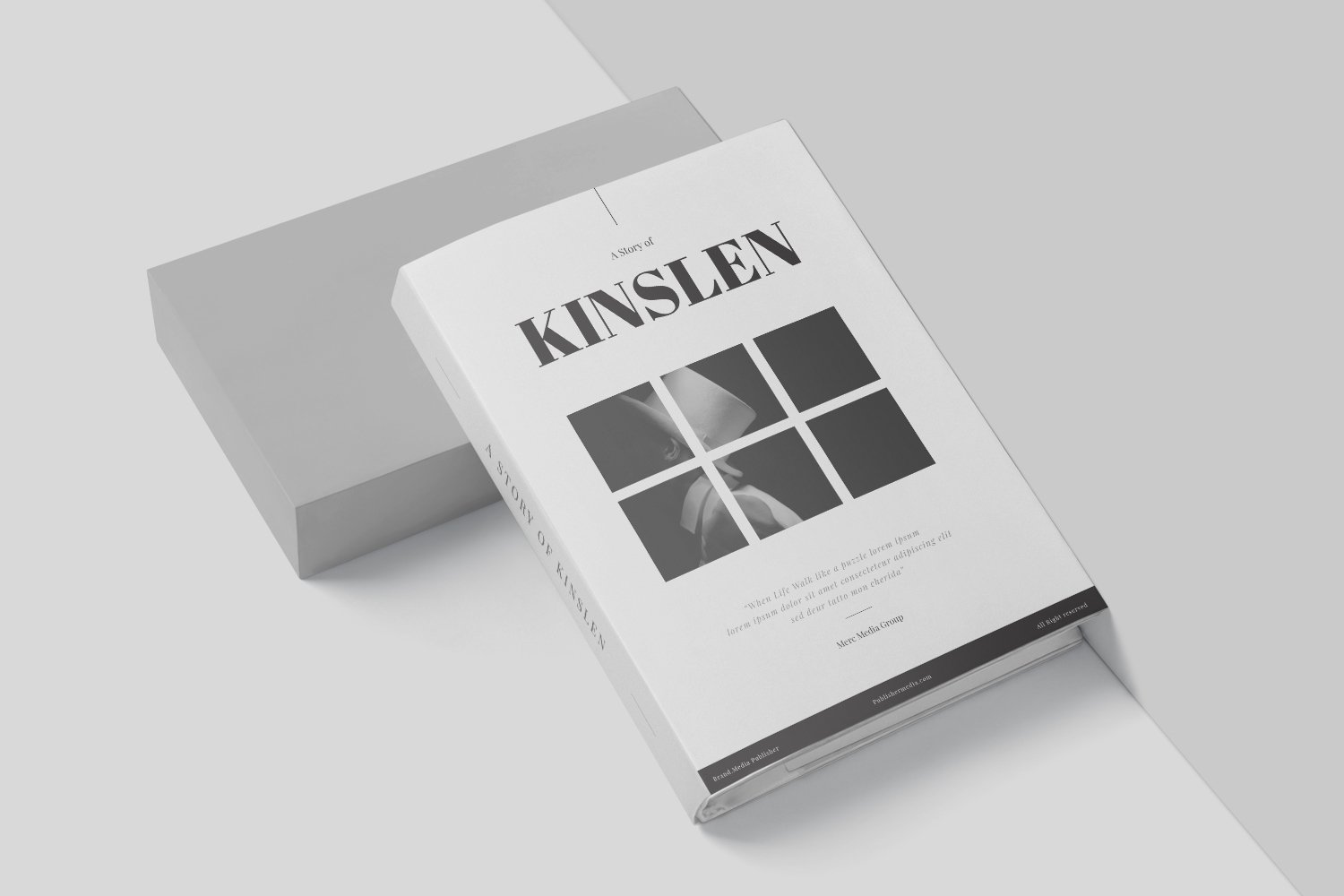 Kinslen Book Cover example image 3