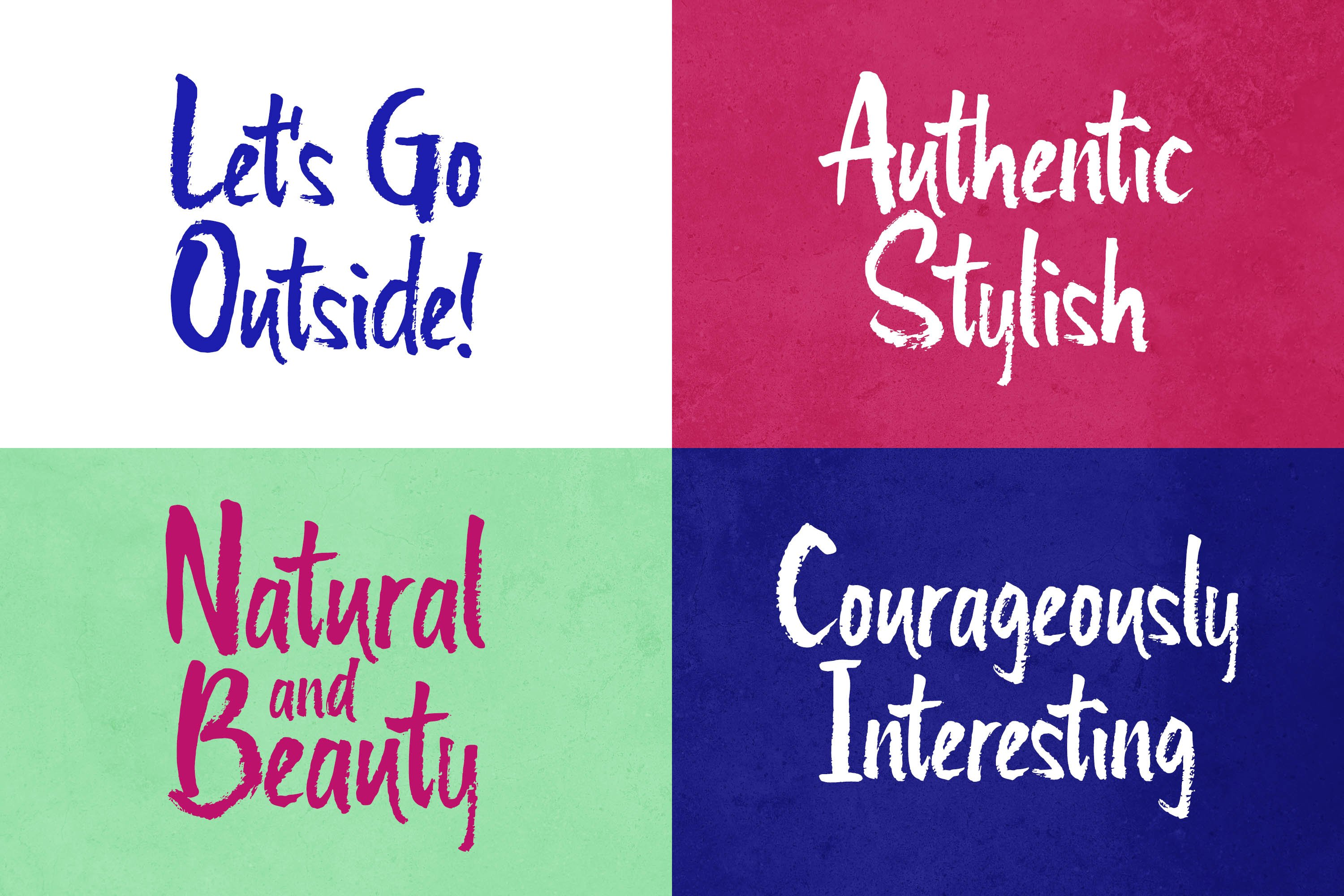 Quikers - Brush Font example image 4