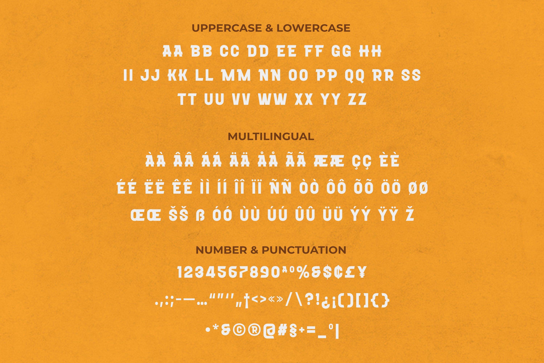 Bronze Font example image 2