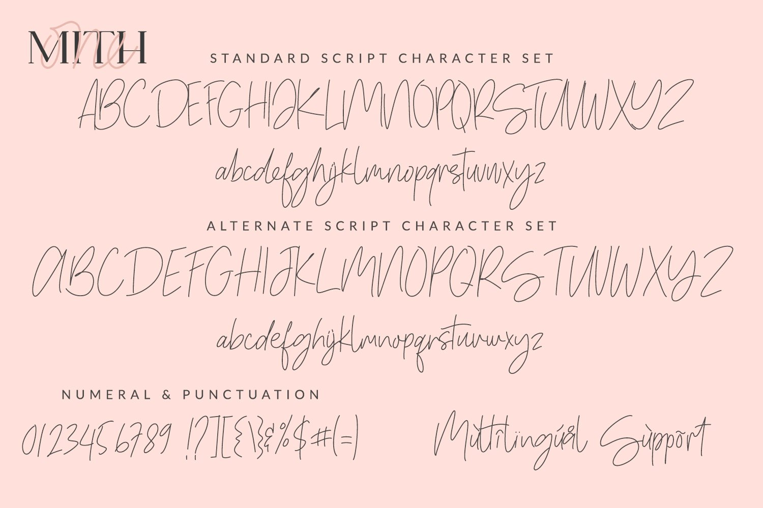 One Mith Font Duo example image 8