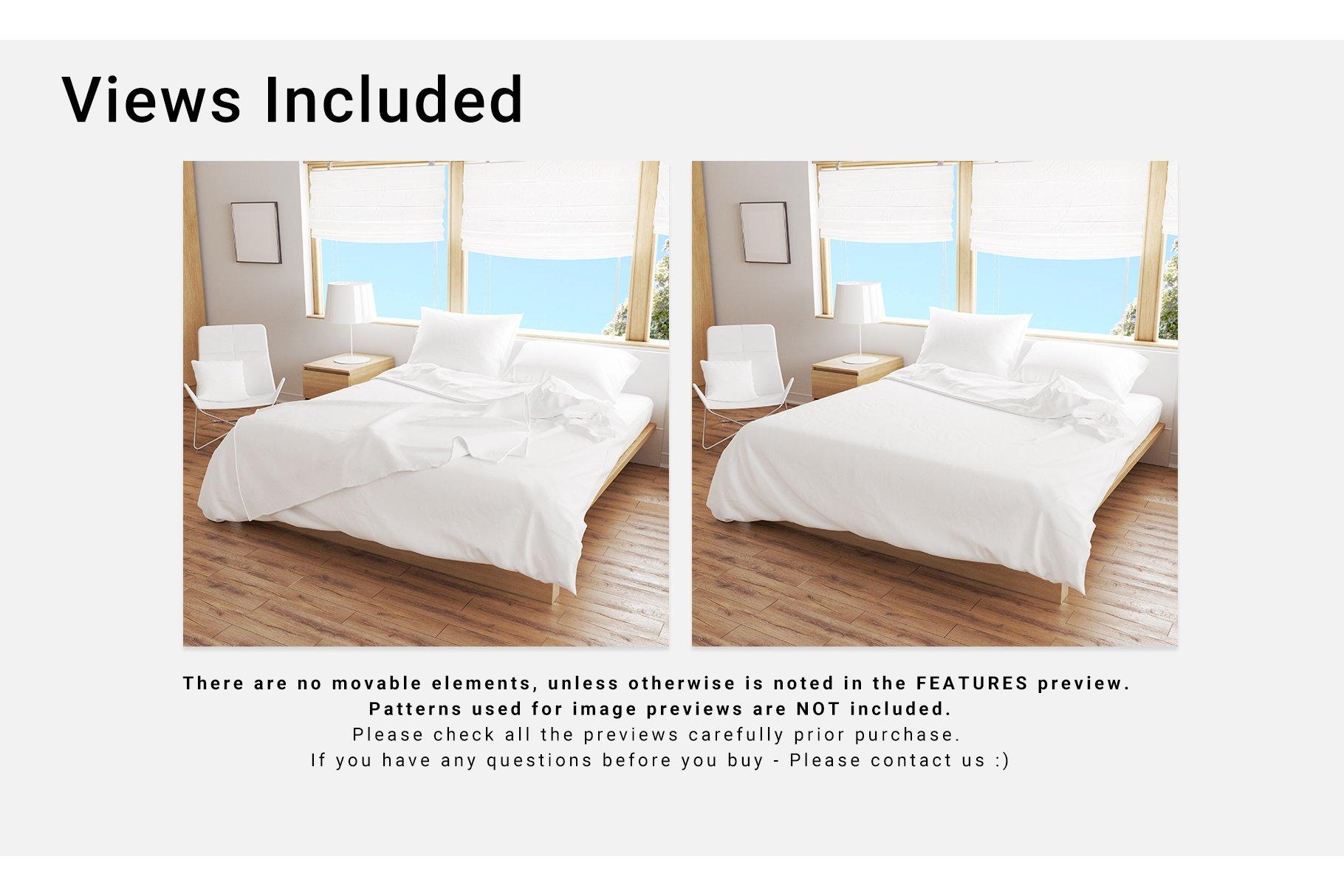 Bedroom Set - Bedding & Throw Pillow example image 3